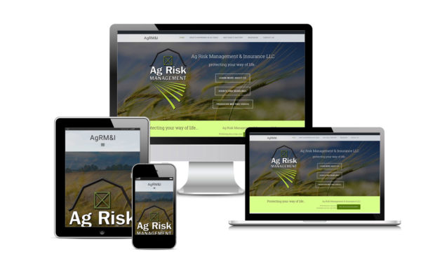 Ag Risk Managment and Insurance Official Website Designed By Eric Alexander and Striped Ape Digital Media