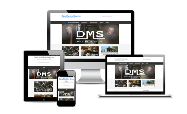 Davis Machine Shop Site Designed by Striped Ape Digital Media
