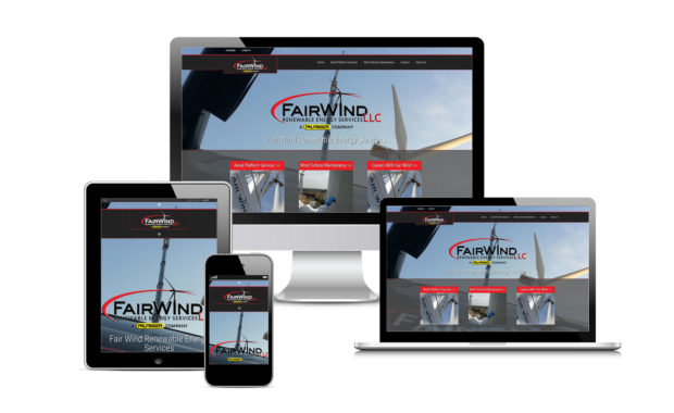 Fair Winds RES Official Website Designed By Eric Alexander and Striped Ape Digital Media